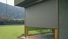 Cortina regulable de Aluminio